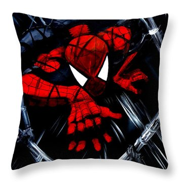 Web Crawler Throw Pillow