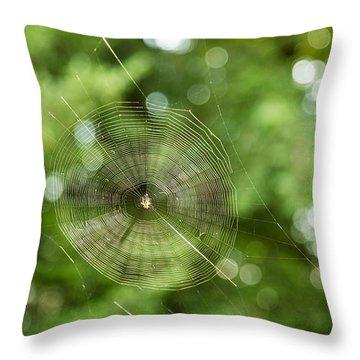 Webilicious  Throw Pillow