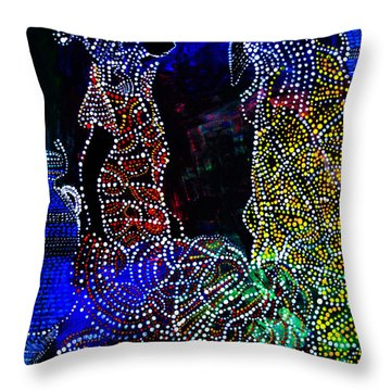Wedding In Cana Throw Pillow