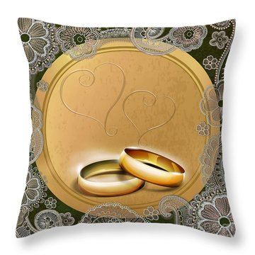 Wedding Memories V1b Classic Throw Pillow by Bedros Awak