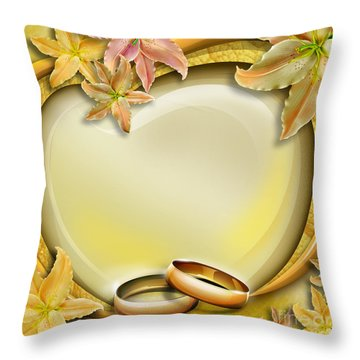 Wedding Memories V3 Throw Pillow