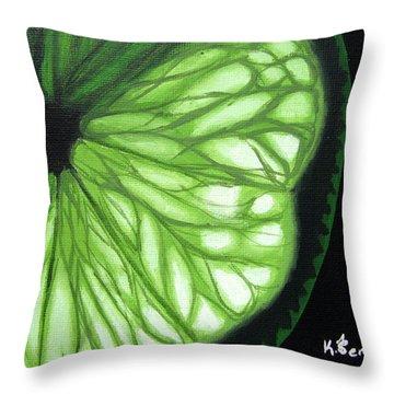 Wedge It Throw Pillow by Kayleigh Semeniuk