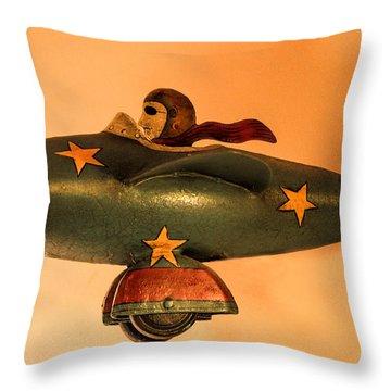 Weeeeeeeeeeeeee Throw Pillow by Linsey Williams