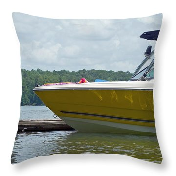 Throw Pillow featuring the photograph Weekend Fun by Charles Beeler