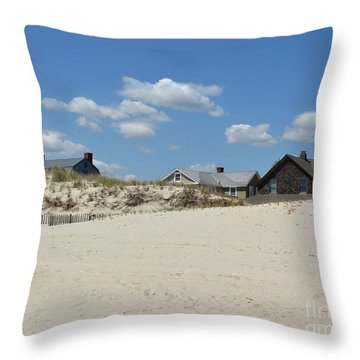 Weekend Neighbors Throw Pillow