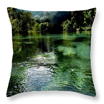 Weekie Sky Throw Pillow by AR Annahita