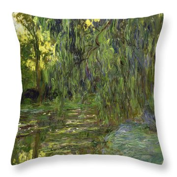Weeping Willow Throw Pillows