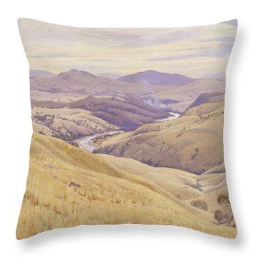 Weetangera. Canberra Throw Pillow