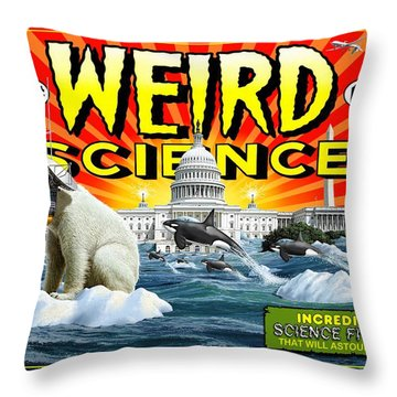 Weird Science Throw Pillow