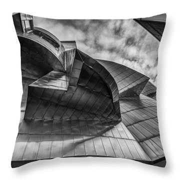 Weisman Art Museum Throw Pillow by Tom Gort