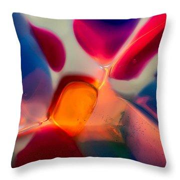 Welcome Throw Pillow by Omaste Witkowski
