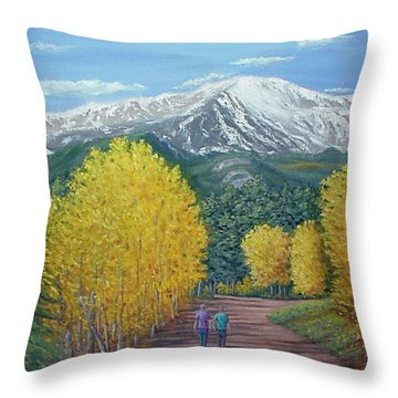 Welcome To God's Country Throw Pillow