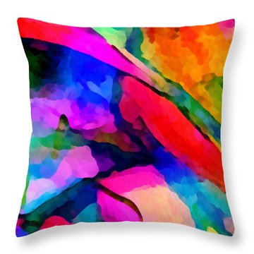 Welcome To My World Triptych Part 1 Throw Pillow