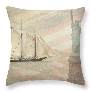 Welcome To Nyc Throw Pillow