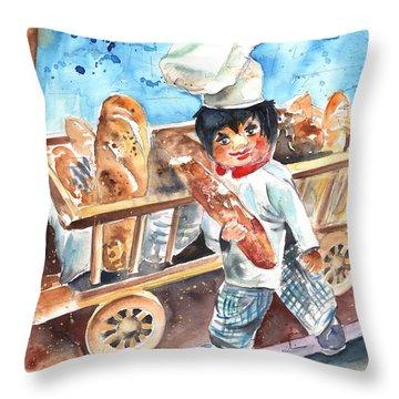 Welcome To The Czech Republic 03 Throw Pillow by Miki De Goodaboom