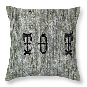 Welcome To The Porch Throw Pillow