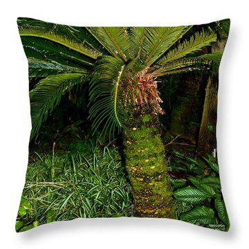 Welcome To The Tropics Throw Pillow