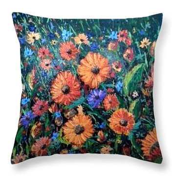 Welcoming The Dawn Throw Pillow