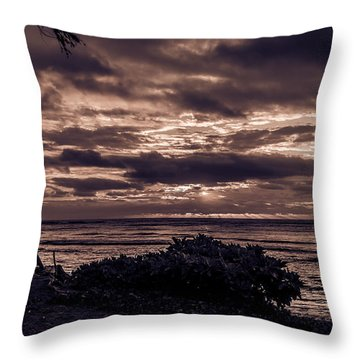 Welcoming The Sun Throw Pillow