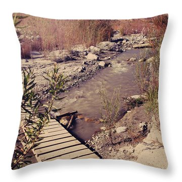 We'll Explore Throw Pillow by Laurie Search
