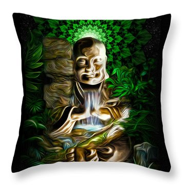 Well Of The Heart Throw Pillow