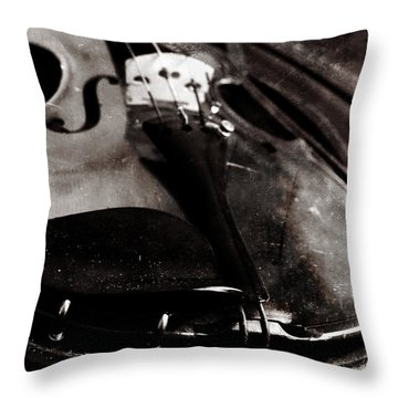 Well Used Instrument Throw Pillow