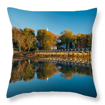 Wellfleet Reflection Throw Pillow