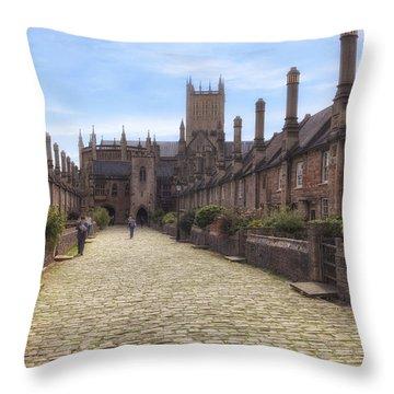 Wells Throw Pillow by Joana Kruse