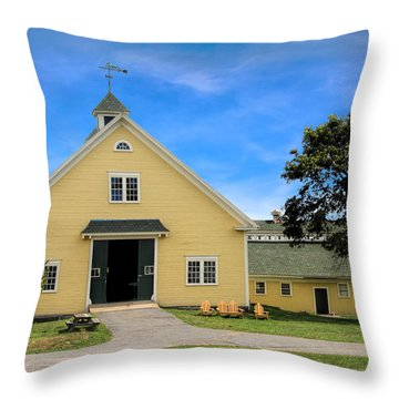 Wells Reserve Barn Throw Pillow