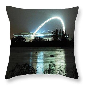 Wembley London Throw Pillow