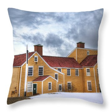 Wentworth Coolidge Mansion Throw Pillow