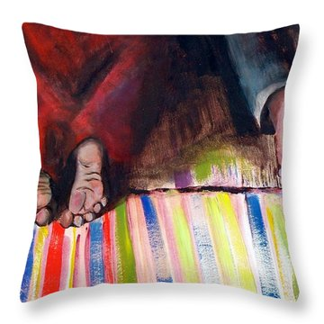 We're Praying For You Throw Pillow