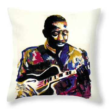 Wes Montgomery Throw Pillow