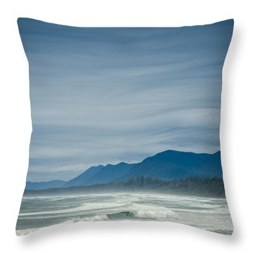 West Coast Exposure  Throw Pillow
