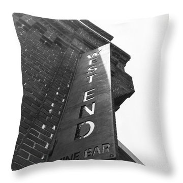 West End Throw Pillow by Wade Brooks