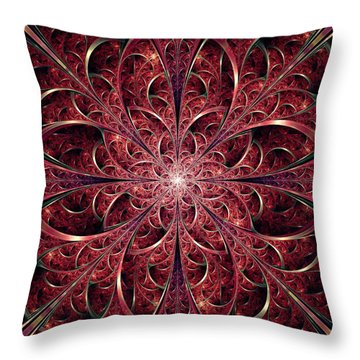 West Gates Throw Pillow by Anastasiya Malakhova