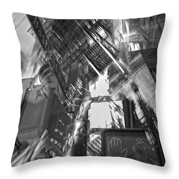 West Hastings  Throw Pillow by Jerry Cordeiro