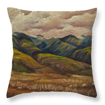 West Maui Splender  Throw Pillow