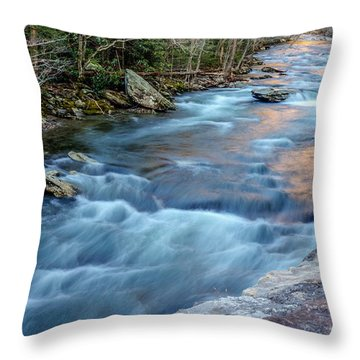 West Prong Throw Pillow