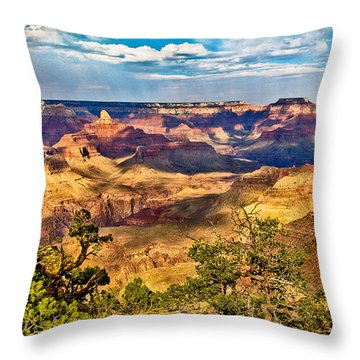West Rim Grand Canyon National Park Throw Pillow