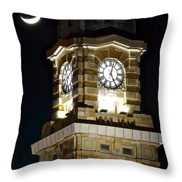 West Side Market Throw Pillow