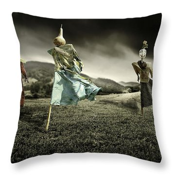West Windz  Throw Pillow by Gray  Artus