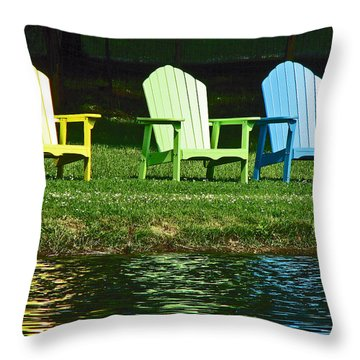 Westchester Adirondacks Throw Pillow