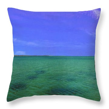 Throw Pillow featuring the photograph Western Australia Busselton Jetty by David Zanzinger