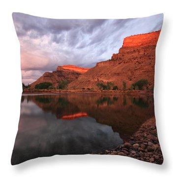Throw Pillow featuring the photograph Western Colorado by Ronda Kimbrow