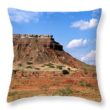 Lone Peak Mountain Throw Pillow