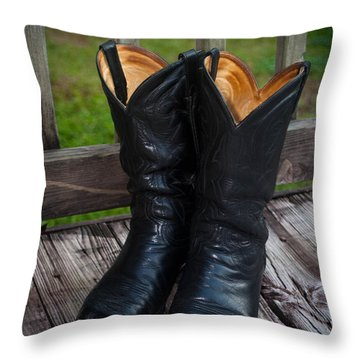 Western Wear Throw Pillow
