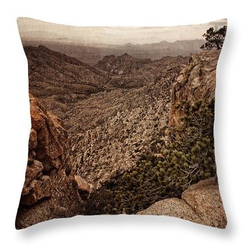 Western Wilderness II Throw Pillow