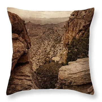 Western Wilderness IIi Throw Pillow