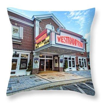 Westhampton Beach Performing Arts Center Throw Pillow